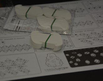 Puzzle Lampen Teile XS – Set einfarbig
