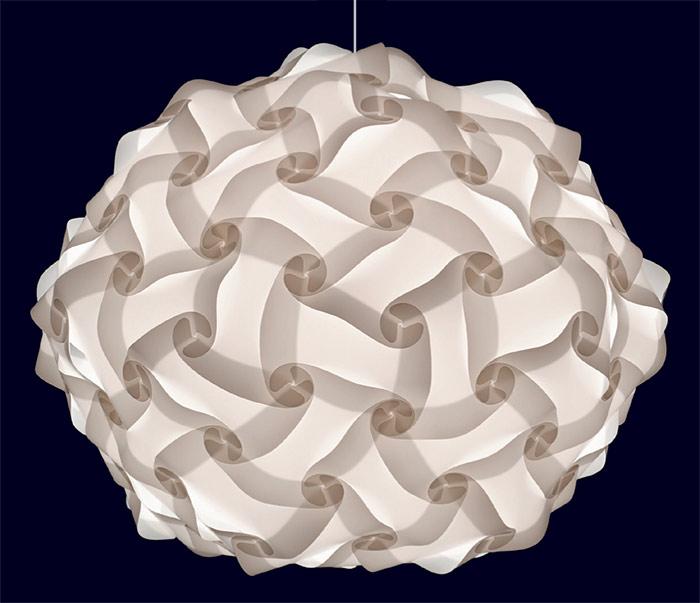 100 teilige myol puzzle lampe