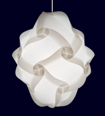 16 teilige myol puzzle lampe
