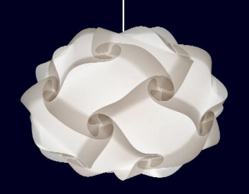 20 teilige myol puzzle lampe