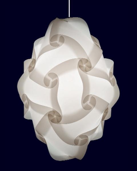 24 teilige myol puzzle lampe