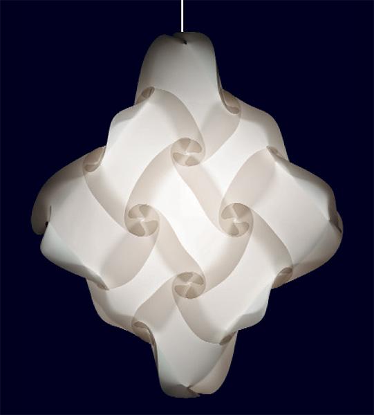 27 teilige myol puzzle lampe