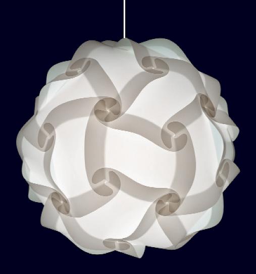 30 teilige myol puzzle lampe