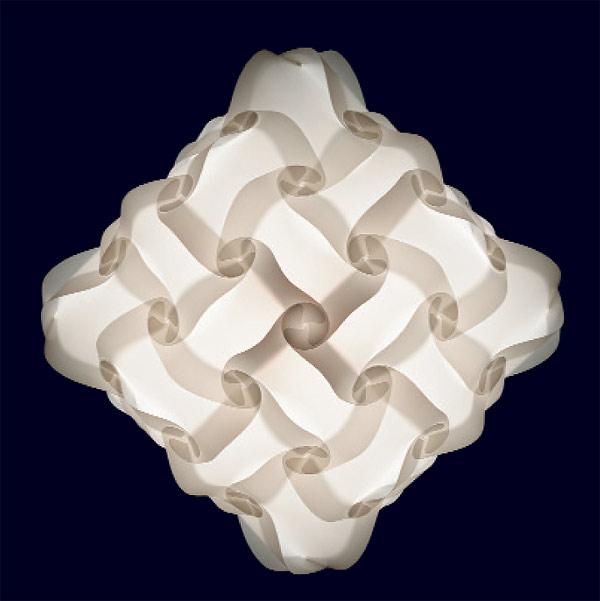 48 teilige myol puzzle lampe