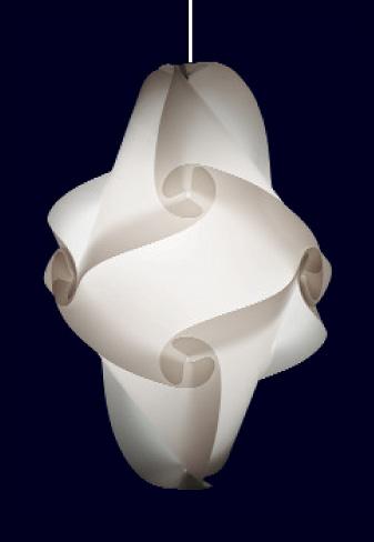 9 teilige myol puzzle lampe