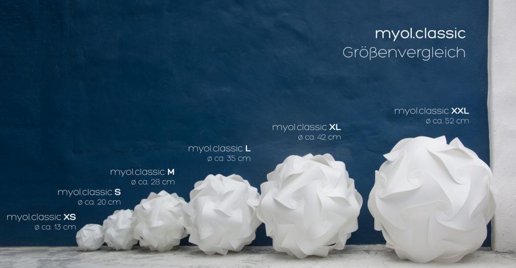myol leuchten classic groessenvergleich